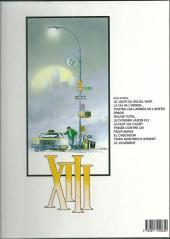 Verso de XIII -8a1997- Treize contre Un