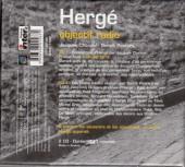 Verso de (AUT) Hergé -0CD- Hergé - objectif radio