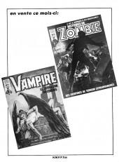 Verso de Terreur de Dracula -1- Prince de la mort et de l'enfer