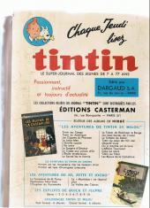 Verso de (Recueil) Tintin (Album du journal - Édition française) -75- Tintin album du journal (n°1004 à 1016)