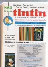 Verso de (Recueil) Tintin (Album du journal - Édition française) -78- Tintin album du journal (n° 1042 à 1054)