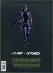 Verso de Le chant des Stryges -INT3- L'Intégrale - Tomes 7 à 9