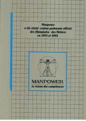Verso de Métiers et Qualifications -1- BTP