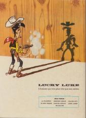 Verso de Lucky Luke -37a72- Canyon Apache