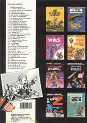 Verso de Spirou et Fantasio -29a1987- Des haricots partout
