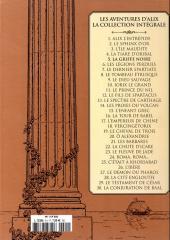 Verso de Alix - La collection (Hachette) -5- La griffe noire