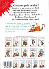 Verso de Le mini-guide -19- Le mini-guide du Chat
