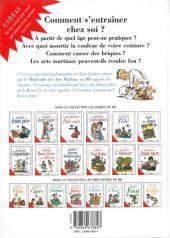 Verso de Le mini-guide -25- Le mini-guide des Arts Martiaux