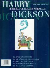 Verso de Harry Dickson (Nolane/Roman) -1b98- L'ile des possédés