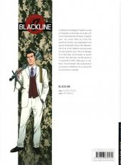 Verso de Blackline -2- Retombées