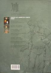 Verso de XIII (Le Soir Belgique) -2- Toutes les larmes de l'enfer / Spads