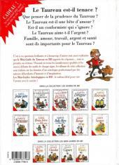 Verso de Le mini-guide -2a- Le mini-guide du Taureau