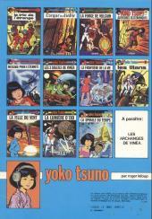 Verso de Yoko Tsuno -2b82- L'orgue du diable