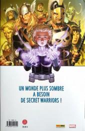 Verso de Secret Warriors -1- Nick Fury : seul contre tous