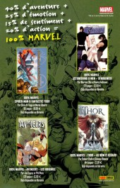 Verso de Marvel Saga (1re série - 2009) -13- L'évasion de la zone négative