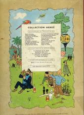 Verso de Tintin (Historique) -4B30- Les cigares du pharaon
