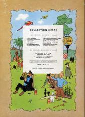 Verso de Tintin (Historique) -7B19- L'île noire