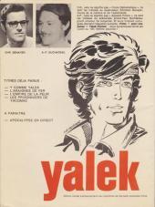 Verso de Yalek -3a'1974- L'empire de la peur
