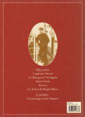 Verso de Théodore Poussin -5- Le Trésor du Rajah Blanc