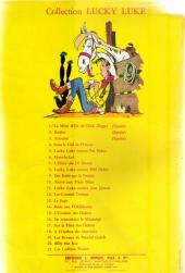Verso de Lucky Luke -13a1964- Le juge