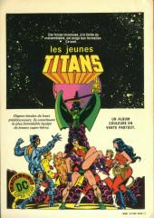 Verso de La ligue de justice (1re série - Arédit - Artima Color DC Super Star puis Artima Color DC) -2- La menace de Darkseid