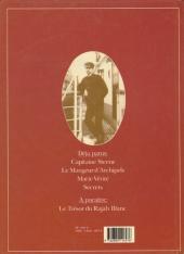 Verso de Théodore Poussin -4- Secrets