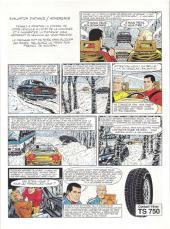 Verso de Michel Vaillant -10Pub- Le mystère du contact TS 750