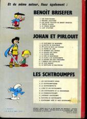 Verso de Les schtroumpfs -5a73- Les Schtroumpfs et le Cracoucass