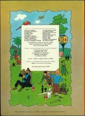 Verso de Tintin (Historique) -15B38bis- Tintin au pays de l'or noir