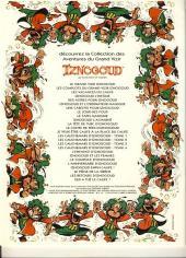Verso de Iznogoud -PUB- Iznogoud et les babouches galopantes