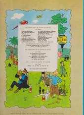 Verso de Tintin (Historique) -8B36- Le sceptre d'ottokar