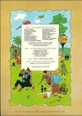 Verso de Tintin (Historique) -5B39- Le lotus bleu