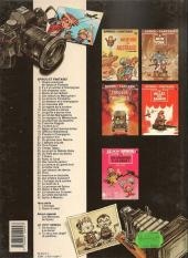 Verso de Spirou et Fantasio -31c91- La boîte noire