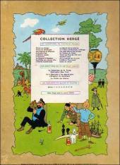Verso de Tintin (Historique) -14B26- Le temple du soleil