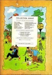 Verso de Tintin (Historique) -15B25- Tintin au pays de l'or noir