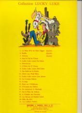 Verso de Lucky Luke -9a64- Des rails sur la prairie