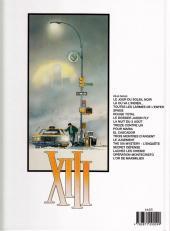 Verso de XIII -6b2006/01- Le dossier Jason Fly