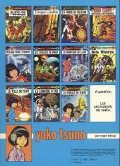 Verso de Yoko Tsuno -5b82- Message pour l'éternité