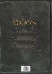 Verso de Les druides -6- Crépuscule