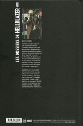Verso de Hellblazer (Les Dossiers de) -1- Mauvais sang