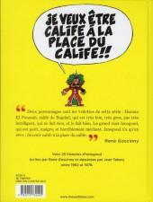 Verso de Iznogoud -INT1- 25 histoires de Goscinny et Tabary de 1962 à 1978