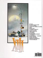 Verso de XIII -13a2006- The XIII mystery - L'enquête