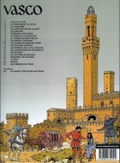 Verso de Vasco -12b2001- Les princes de la ville rouge