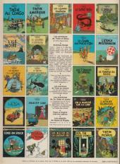 Verso de Tintin (Historique) -3C6- Tintin en amérique