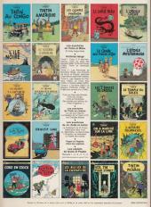 Verso de Tintin (Historique) -6C6- L'oreille cassée