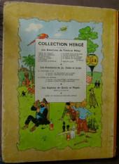 Verso de Tintin (Historique) -12B09- Le trésor de Rackham Le Rouge