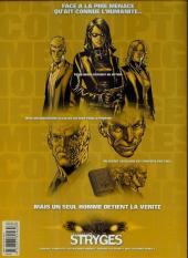 Verso de Le chant des Stryges -8a2007- Saison 2 -Défis
