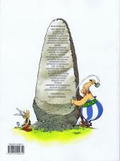 Verso de Astérix (en langues étrangères) -10Turc- Asteriks Lejyoner