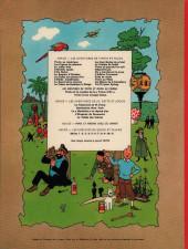 Verso de Tintin (Historique) -6B38bis- L'oreille cassée