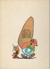 Verso de Astérix -4c1965a- Astérix gladiateur